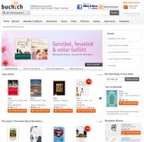 Screenshot von Buch.ch
