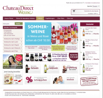 Screenshot von ChateauDirect