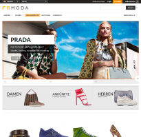 Screenshot von Frmoda.com