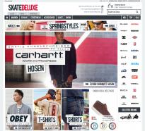Screenshot von Skatedeluxe