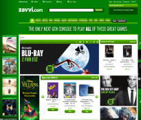Screenshot von Zavvi
